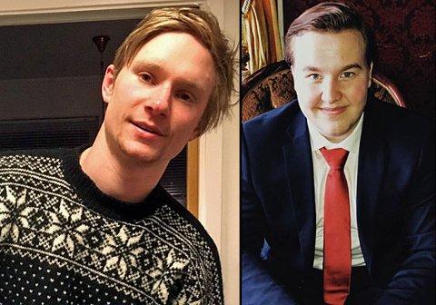 GODE VENNER: Elias Søreng Skille (20) var god venn av avdøde Olaf Skarbakk Bjørkeng (22) (til venstre). Han ble kjent med Bjørkeng da han flyttet til Øverbygt som 12-åring. Foto: Privat