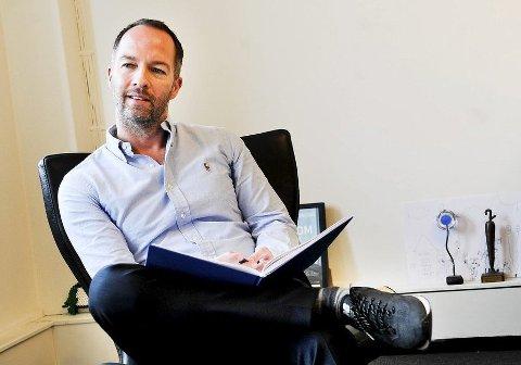 EIER: Geir Are Jensen er daglig leder i Nu Publishing AS. Et selskap Amedia eier 90,1 prosent av. Jensen eier 9,9 prosent.
