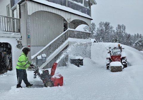 SNØ OG REGN: Den neste uken vil Tromsø få oppholdsvær, regn og snø.