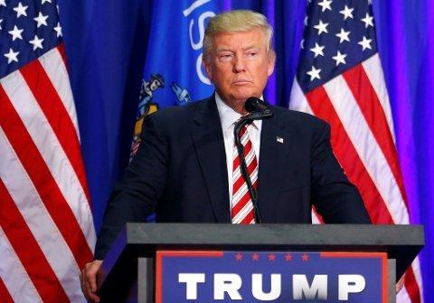 FORESLÅR Å UTSETTE VALGET: USAs president Donald Trump antyder på Twitter at presidentvalget kanskje bør utsettes. Det begrunner han med usikkerhet knyttet til poststemmer.