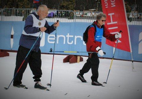 Charles Wirth i fint driv i de flotte skiløypene på Beitostølen. (Foto: Per-Einar Johannessen)