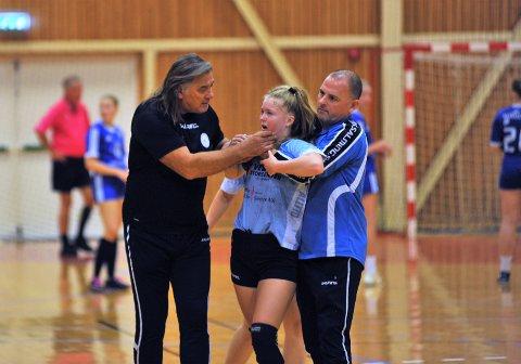 """""""HJEMME"""": Valter Perisa var tilbake på kjente trakter med sin nye klubb Vesby, men måtte tåle et sviende nederlag i finalen mot gamleklubben Toten HK."""