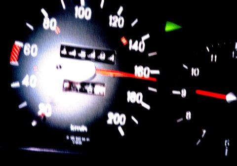 AVVIK: Jo fortere det gikk, desto større ble avviket mellom hva det ordinære speedometeret viste og hvor fort det faktisk gikk.