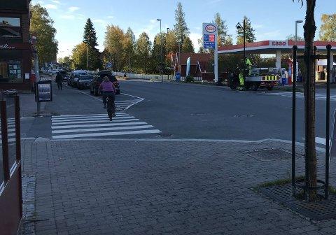 VARMT: For den som sykler eller går til jobb og skole, var det temperaturmessig en god start på dagen.
