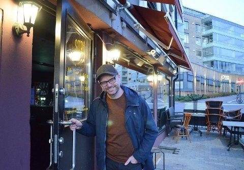 ÅPNER DØRENE IGJEN: I november åpner Frode Wardenær dørene til Stri Pub i Elverum igjen.