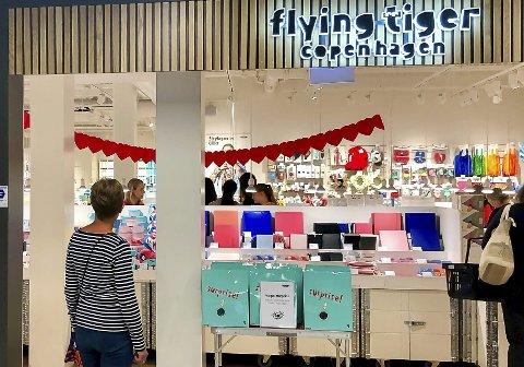 DOWN TOWN: Det var usikkerhet for butikken på Down Town også i august 2019, på grunn av den danske kjedens svake resultater.