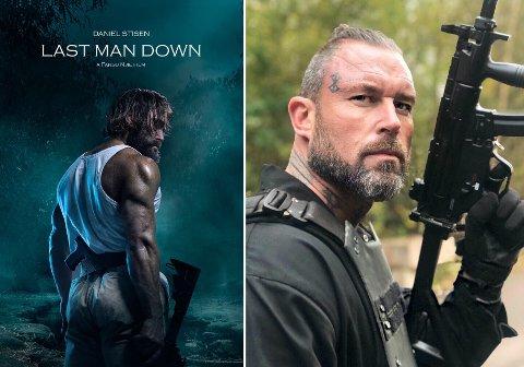 """FILMDEBUT: Kim Valhalla Johansen fikk en egen rolle skrevet til seg da han entret filmsettet til """"Last Man Down"""". Nå er han aktuell i rollen som """"Assassin Valhalla""""."""
