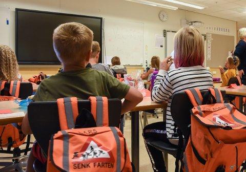Undervisning: 1,2 prosent av undervisningen i grunnskolen i Ringsaker kommune ble i 2018%2019 gjort av lærere uten pedagogisk utdanning.