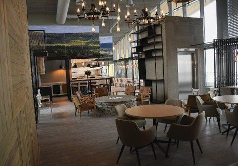 INGEN DRIVER: Kafeen sto ferdig i 2018. Det letes fortsatt etter driver.