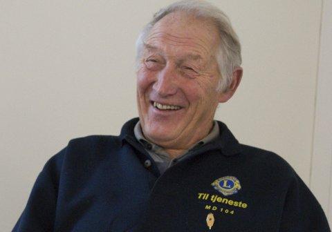 LIONSGENSEREN: Hans Jørgen Gundersby hjalp dyr i flere tiår. Som eldre står han til tjeneste for mennesker.
