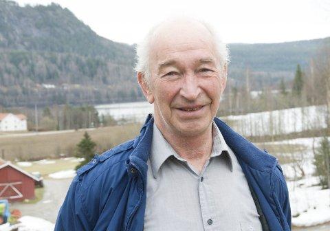 VIKER: Ivar Arvid Opperud hjemme i Katthaugen.