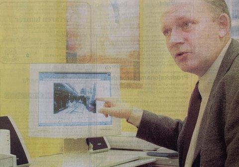 DATA: Siden de første PC-ene kom på begynnelsen av 80-tallet, har Frank Tverran vært hektet på dem. Les den artige saken vi har hentet fra avisens arkiv.
