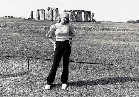 MINNERIKE OPPLEVELSER: Dina-Birgitte fikk et minnerikt år i England på tross av strenge restriksjoner og en tøff start.