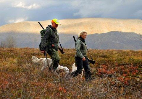 Rypejakt er en av de mest populære jaktformene. Miljødirektoratet foreslår ikke endringer for de sentrale jakttidene for rype. Foto: Wenche Offerdal
