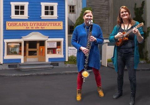 Duoen Snurr-Musikkeriet, Lene Anett Killingmo og Margrete Augdal.