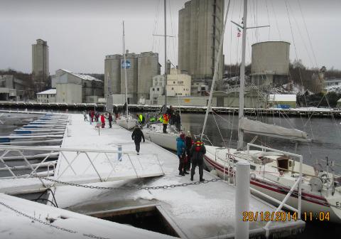 2014: Sist seilasen ble arrangert fra Slemmestad var i 2014.