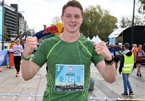 LØP BRA: Anders Krag har sansen for lengre distanser og vurderer å lage seg sitt eget maratonløp ettersom den distansen ble avlyst i Oslo.