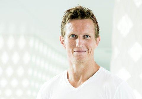 OSLO  20180807. Lansering av høstens Skal vi danse-kjendiser. Her er deltager Frank Løke.  Foto: Berit Roald / NTB