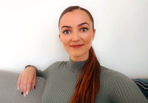 RETT UT I JOBB: Trine Edenhammar (31) slapp å stresse med jobbsøking da hun var ferdig utdannet. Kun noen dager etter at hun var ferdig med sin master i juss, startet hun i fast jobb hos Tenden Advokatfirma.