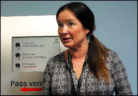 LEDER: Leder av forvaltningsavdelingen. Heidi Vinsrud