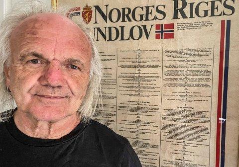 PÅ BEDRINGENS VEI: Harald Otterstad ble alvorlig sjuk og måtte legges inn på sykehuset. Nå føler han seg bedre.