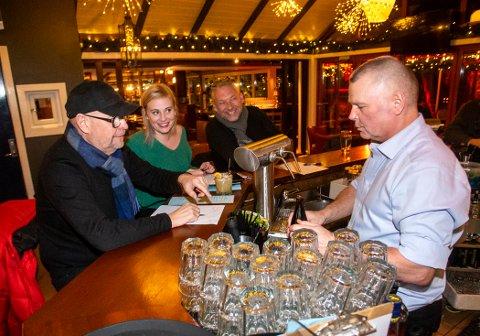 TALENTFULL: Andreas Buchardt tryller frem de herligste drinker.