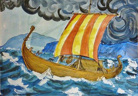 Vikingene var havets herskere. Den unike båtkonstruksjonen vikingskipene var overlegne farkoster, i forhold til andre båttyper på den tid. De krysset ulike hav og kunne seile over store havstrekninger. Vikingene fant egnede steder i andre land, hvor de bosatte seg. Noen kom også tilbake etter opphold utenlands. Vikingene grunnla Dublin, en by de hadde herredømme over i ca. 300 år. Vikingene drev handel, men er også kjent for sine plyndringstokter.