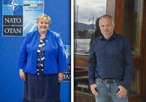 Kjell Neergaard takket nei til å delta på arrangementet der Erna Solberg skal legge ned grunnsteinen til det kommende SNR Hjelset.