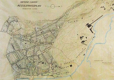 Nøtterø Haveby plan av 1921