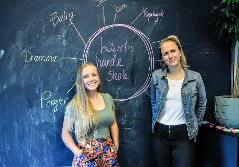 NYTT MAGASINKONSEPT: Julia Horn og Benedicte Hamnes vil høre historiene deres.