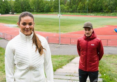 SØK, DA VEL! Jeanette Hegg Duestad og Mikael Flygind Larsen vet at perioden 15-19 år kan være ekstra utfordrende for idrettsutøvere. Da er det hjelp å få.