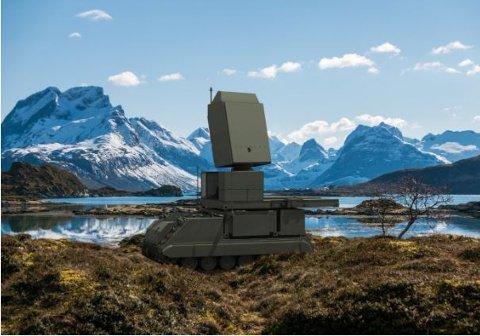 RADAR-SAMARBEID: Forsvarsmateriell signerte i vår en avtale med sin nederlandske motpart om leveranse av fem radarer av typen Ground Master 200 multi-mission. som ny artillerilokaliseringsradar i Norge. Levanger-firmaet Ritek skal tilpasse kjøretøyene som radarene skal monteres på.