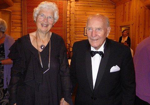Randi og Peter Selås var gift i 65 år. Privat foto.