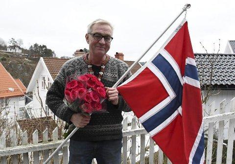Kreativ: Leder av 17. maikomiteen i Tvedestrand, Jens Ove Kristiansen, lanserer nå en plan B for feiringen av nasjonaldagen. Arkivfoto