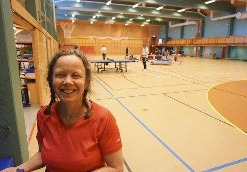 VELDIG FORNØYD: Birgitte Bjelland har nylig avsluttet et tre uker langt opphold sammen med dattera Ingeborg.