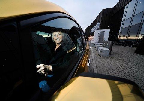 Senterleder Christin Werge Johansen sier at årets mai har vært bedre enn i 2017.