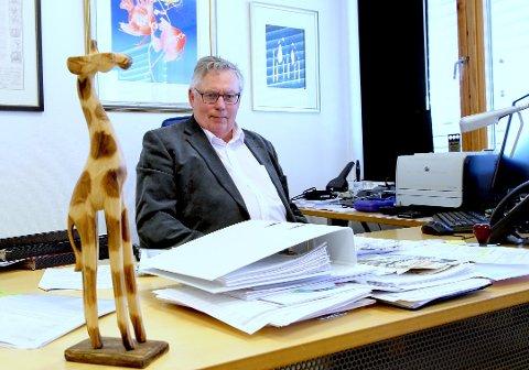 MANGE SØKERE: Per Hedum, rektor ved Vestby videregående skole, forteller at yrkeslinjene har gode søkertall.