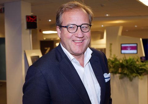 VELDIG GLEDELIG: Sparebank 1 BV registrerer økt optimisme i næringslivet. - Veldig gledelig, sier administrerende direktør Rune Fjeldstad.