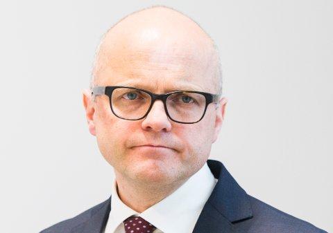 Klima- og miljøminister Vidar Helgesen.