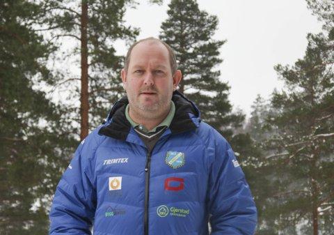 Lang prosess: Det er halvannet år siden kommunestyret i Gjerstad ga klarsignal til skiskytteranlegget på Vestøl, men arbeidet med lysløype og standplass startet tre år før det igjen. Snart runder altså Gjerstad idrettslag fem år uten at noe har skjedd. Leder Fredrik Hafredal er utålmodig etter å komme i gang.