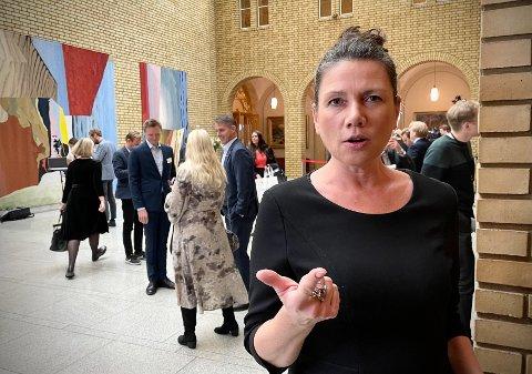 REAGERER PÅ BYRÅDETS TAUSHET: Oslo Høyres leder Heidi Nordby Lunde.