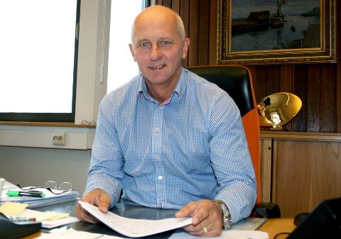 Brynjar Forbergskog: Konsernsjefen i Torghatten ASA.