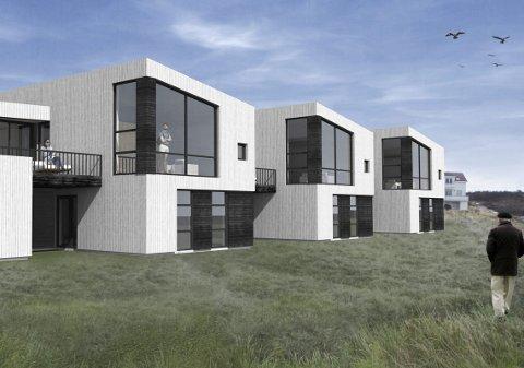 GODT SALG: Jørn Vidar Johansen AS kan melde om godt salg av boligene som er lagt ut i forbindelse med Sjøsiden-prosjektet.
