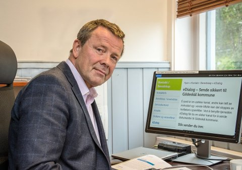 Tidligere rådmann i Gildeskål kommune, Helge Akerhaugen, ble torsdag konstituert som kommunedirektør i Fauske.  Foto: Arkiv