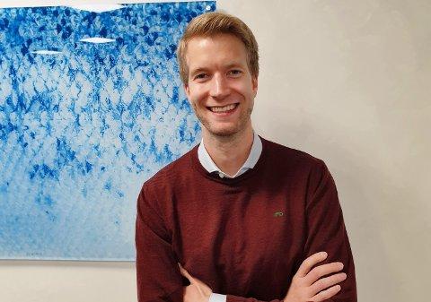 ØKONOMISJEF: Rune Johansen (30) styrer økonomien til et konsern som omsetter for 1,6 milliarder kroner.