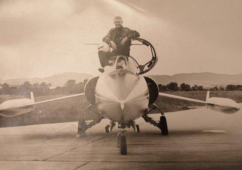 Siegfried fortsatte, og fløy også Starfighter ut fra Bodø før han gikk over til sivil luftfart. Privat foto.