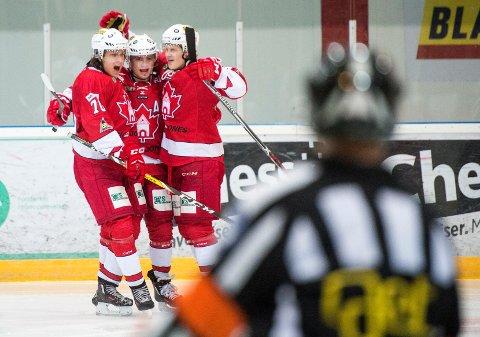 Bergen Hockey tok sin tredje strake seier lørdag.
