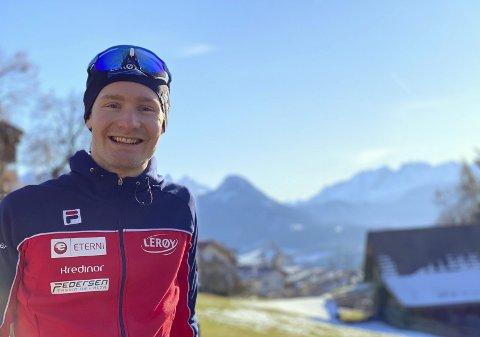 Sverre Lunde Pedersen har tilbragt både romjul og nyttår i landsbyen Collalbo i de italienske Alpene. På 1100 høydemeter har han trent seg opp etter sykkelulykken som spolerte hele høstsesongen.