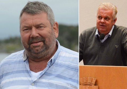 Tor Bernhard Harestad (t.v.) og Leif Arne Moi Nilsen mener det er på tide at bykommunen tar mer inn over seg at den i større grad har blitt en distriktskommune.
