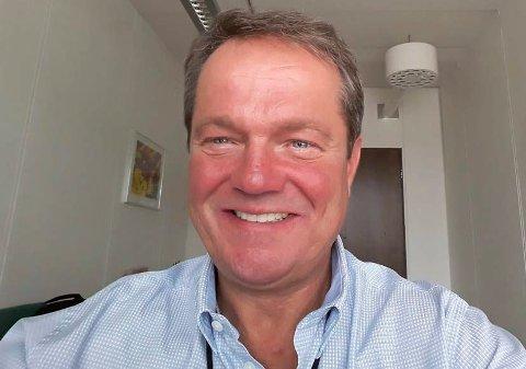 LISTETOPP: Ulf Erik Knudsen er Frps ordførerkandidat ved kommunevalget neste høst.